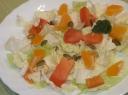 Salotos su apelsinu ir mėtomis