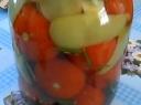 Pomidorai su paprikomis