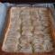 Sluoksniuotos tešlos ir obuolių pyragas